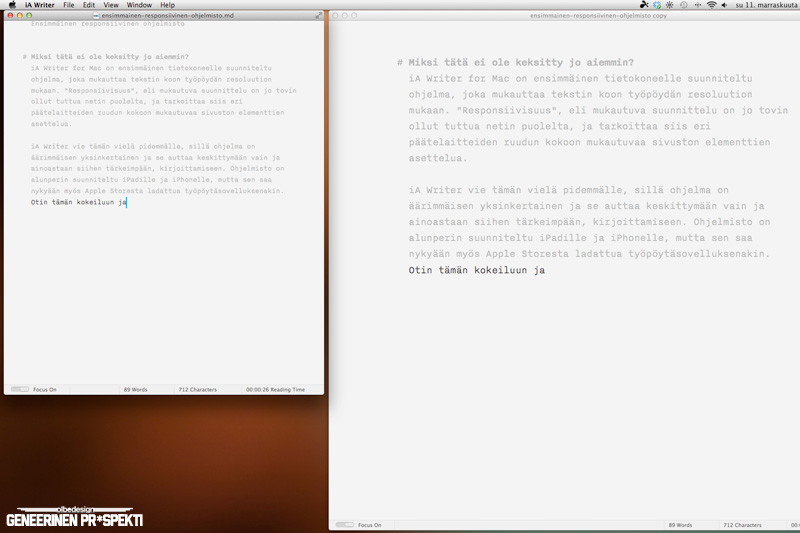iA Writer for Mac