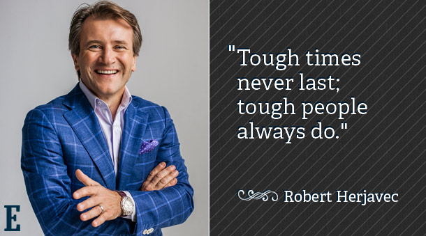 """Tought times never last, tough people do."""